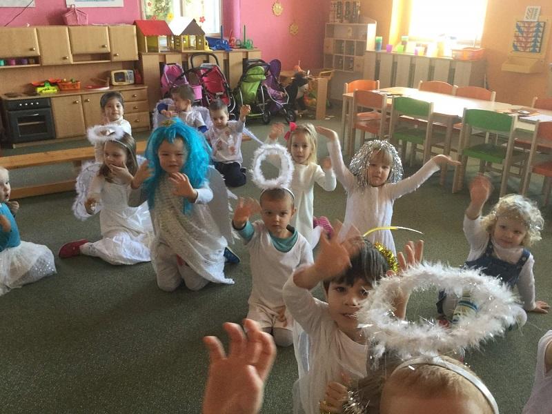 Andílci v mateřské škole